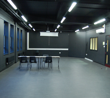 "<div class=""venueHireContainer""> <h3>Drama Studio</h3> <ul> <li>Full black-out facilities including curtains</li> <li>Plug-and-play audio system</li> <li>Direct access available from car park</li> <li>Capacity 30 guests</li> </ul> </div>"