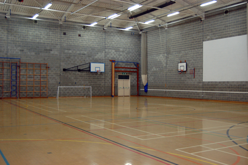 Venue hire emmanuel college for Indoor badminton court height
