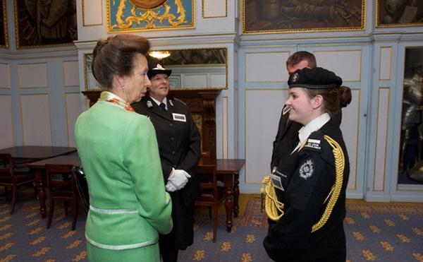 Rebecca and Princess Anne