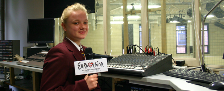 TOP BLOGGER GOES BEHIND THE SCENES AT EUROVISION