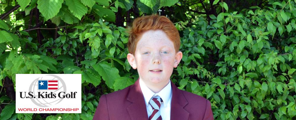 12-year-old Adam heads to US Kids World Golf Championship