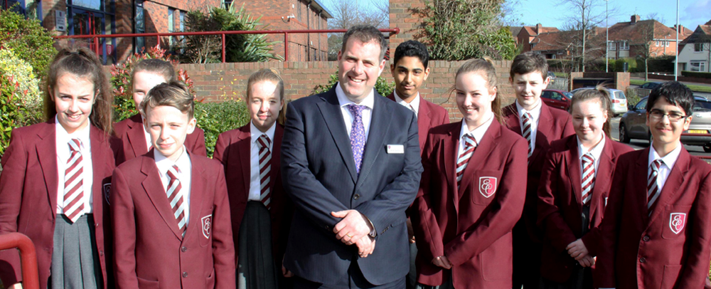 A new principal has been appointed to lead one of the North East's top performing schools