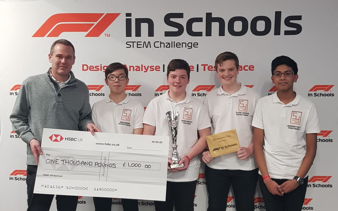 F1 in Schools: National Final, here we come!
