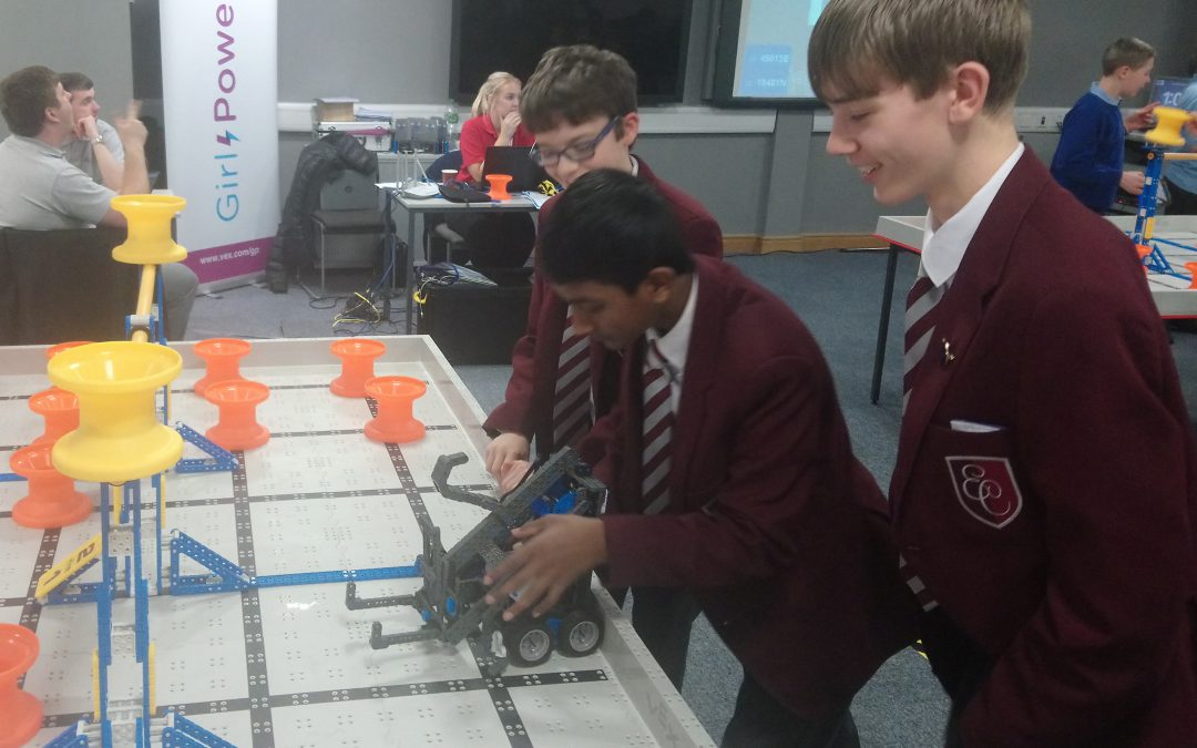 Robots rule at STEM contests