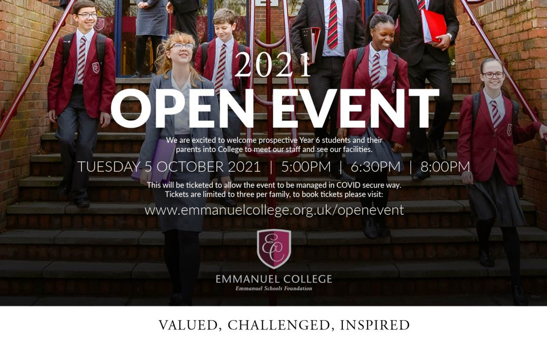 Year 6 Open Event